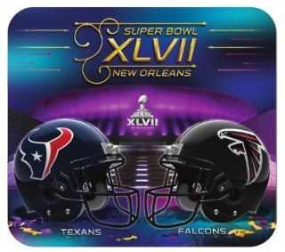 Super Bowl XLVII 47 Baltimore Ravens vs San Francisco 49ers NFL Football Dueling Computer Mouse Pad Sports & Outdoors