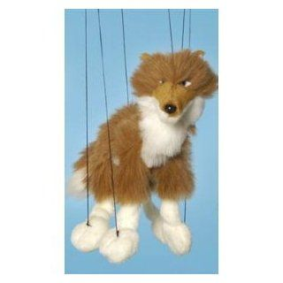 Forest Animal (Red Wolf) Small Marionette Toys & Games