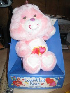 "Original 12"" Care Bears Love A Lot Bear (1983) Toys & Games"