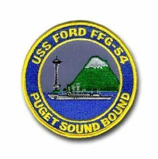 "Navy USS Ford FFG 54 Puget Sound Bound 4"" Military Patch Automotive"