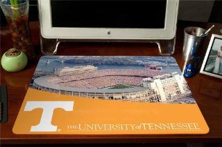 NCAA Tennessee Volunteers Neyland Stadium with ?T? Logo Full Color Print Deskpad  Sports Fan Office Desk Pads And Blotters  Sports & Outdoors