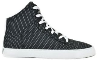 Supra Cuttler Men's Fashion Sneakers Black Polka Dot Nylon s35040 (12 M) Shoes