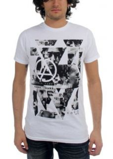 Linkin Park   Mens Angels T Shirt In White Music Fan T Shirts Clothing