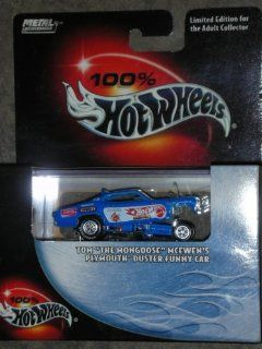 "100% Hot Wheels   Limited Edition Cool Collectibles Series   Tom ""The Mongoose"" McEwen's Plymouth Duster Funny Car   Mounted in Display Case   Collector #05   2003 Toys & Games"