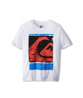Quiksilver Kids Caption Tee Boys T Shirt (White)