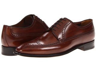 a. testoni Wingtip Oxford Mens Lace Up Wing Tip Shoes (Brown)