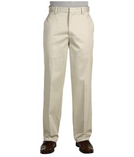 Dockers Big & Tall Big Tall Signature Khaki D3 Classic Fit Flat Front Mens Casual Pants (White)