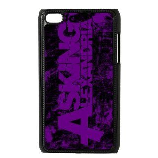 Personalized Styles Heavy Metal Band Asking Alexandria Ipod Touch 4 Protective Hard Plastic Case Cover Cell Phones & Accessories
