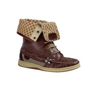 Sperry Top sider Women's Ladyfish Boot (5.5, Chocolate Brown) Shoes