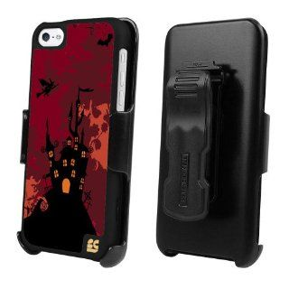 Beyond Cell 3 in 1 Kombo� Case & Holster Belt Clip Combo with Screen Protector for Apple Iphone 5C   Hunting Castle   1 pack   Retail Packaging + FREE Screen protector Cell Phones & Accessories
