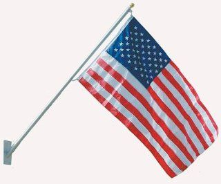 Outdoor Deck Mounting American Flag Pole Kit  Patio, Lawn & Garden