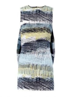 Scribbles print sleeveless dress  Kenzo