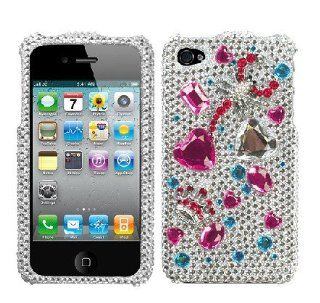 Hard Plastic Snap on Cover Fits Apple iPhone 4 4S Dangerous Crown Regular 3D Diamond Plus A Free LCD Screen Protector AT&T, Verizon (does NOT fit Apple iPhone or iPhone 3G/3GS or iPhone 5/5S/5C) Cell Phones & Accessories