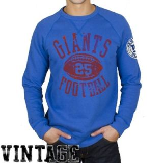 Junk Food New York Giants Field Goal Fleece Sweatshirt   Royal Blue