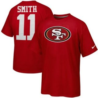 Nike San Francisco 49ers Alex Smith Name & Number T Shirt