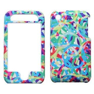 Hard Plastic Snap on Cover Fits Apple iPhone 3G 3GS Rainbow Rings Light AT&T (does NOT fit Apple iPhone or iPhone 4/4S or iPhone 5/5S/5C) Cell Phones & Accessories