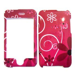 Hard Plastic Snap on Cover Fits Apple iPod Touch 2(2nd Generation) 3(3rd Generation) Secret Flowers (does NOT fit iPod Touch 1st,4th or 5th generations) Cell Phones & Accessories