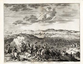 Antique Print NETHERLANDS BERGEN OP ZOOM BRABANT EIGHTY YEARS WAR Le Clerc 1730   Etchings Prints