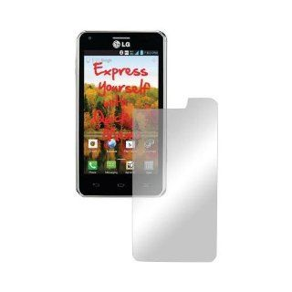 Lcd Screen Protector Cover Kit Film W/ Mirror Effect For LG Ls860 Cayenne Cell Phones & Accessories