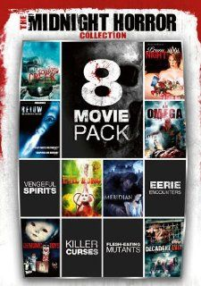 8 Movie Pack Midnight Horror Collection V.1 Leslie Nielsen, Zach Galifianakis, Jason Flemyng, Mark Dacascos, Jamie Lee Curtis, Olivia Williams, Eight Feature Films Movies & TV
