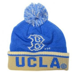UCLA Bruins Adidas 2013 Originals Knit Hat With Pom Clothing