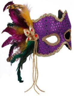 Best Ever Purple Venetian Eye Mask Clothing