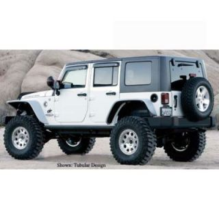 2007 2010 Jeep Wrangler (JK) Fender Flares   Xenon, Direct fit, Automotive grade tape, 1.6 in.