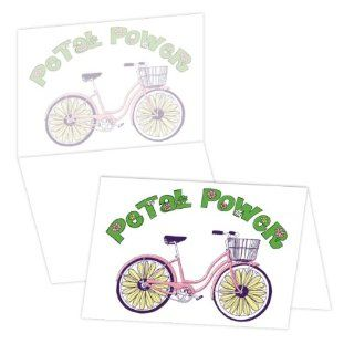 ECOeverywhere Petal Power Boxed Card Set, 12 Cards and Envelopes, 4 x 6 Inches, Multicolored (bc11692)  Blank Postcards