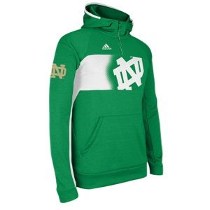 adidas College Sideline Climawarm Player Hoodie   Mens   Football   Clothing   Notre Dame Fighting Irish   Fairway