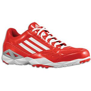 adidas Pro Trainer 2   Mens   Baseball   Shoes   University Red/White/Metallic Silver