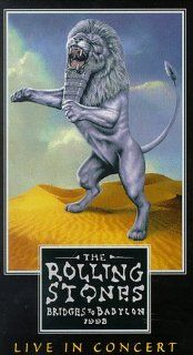The Rolling Stones   Bridges to Babylon 1998 [VHS] Mick Jagger, Charlie Watts, Ron Wood, Keith Richards, Bobby Keys, Chuck Leavell, Darryl Jones, Lisa Fischer, Bernard Fowler, Blondie Chaplin, Michael Davis, Kent Smith, Bruce Gowers, Danny O'Bryen, Ja
