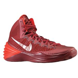 Nike Hyperdunk 2013   Mens   Basketball   Shoes   Team Red/University Red/Metallic Silver