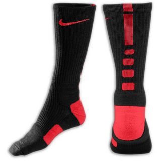 Nike Elite Basketball Crew Socks   Mens   Basketball   Accessories   Black/Varsity Red