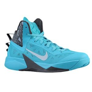 Nike Zoom Hyperfuse 2013   Mens   Basketball   Shoes   Black/Dark Turq/Summit White