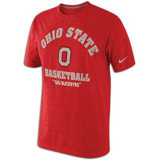 Nike College Tri Blend Road Warrior T Shirt   Mens   Basketball   Clothing   Ohio State Buckeyes   Red