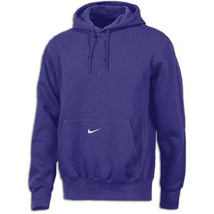 Nike Core Fleece Pullover Hoodie   Mens   For All Sports   Clothing   Purple/White