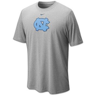 Nike College Dri Fit Logo Legend T Shirt   Mens   Basketball   Clothing   North Carolina Tar Heels   Dark Grey Heather
