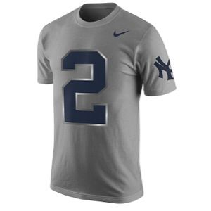 Nike MLB Derek Jeter Retirement T Shirt   Mens   Baseball   Clothing   New York Yankees   Dark Grey Heather