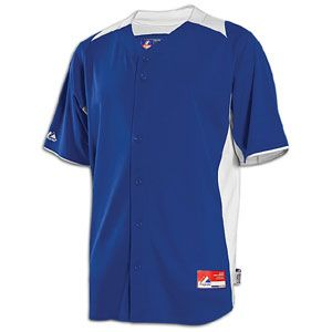 Majestic Cool Base BP Style Game Jersey   Mens   Baseball   Clothing   Royal/White