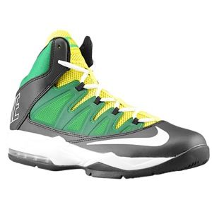 Nike Air Max Stutter Step   Mens   Basketball   Shoes   Black/Green Abyss/Yellow Strike