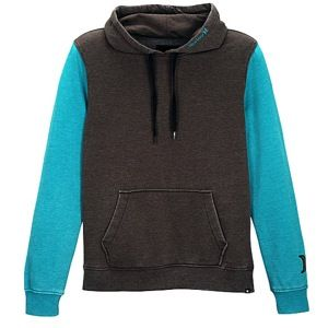 Hurley Burnout PO Hoodie   Mens   Casual   Clothing   Brown