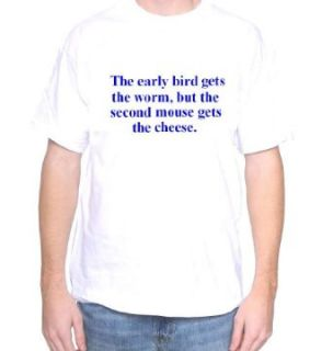 Mytshirtheaven T shirt The Early Bird Gets The Worm Clothing