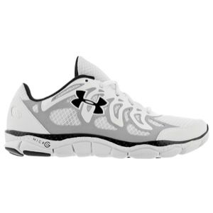 Under Armour Micro G Engage   Mens   Running   Shoes   Gravel/White/Midnight Navy