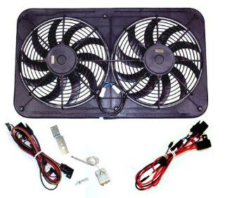 "Maradyne MJS23KC Jetstreme II 12"" 130W Dual Fan with MFA100 and MFA111 Harness Automotive"