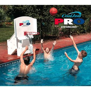 Swimline Super Wide Cool Jam PRO Poolside Basketball   44 in.   Specialty Hoops