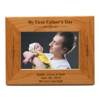 Shop Classic First Fathers Day Frame at the  Home D�cor Store. Find the latest styles with the lowest prices from MemorableGifts