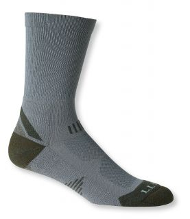 Mens All Sport Primaloft Socks, Lightweight Crew 2 Pack