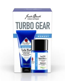 Mens Turbo Gear Set, 2.75 oz   Jack Black   Black