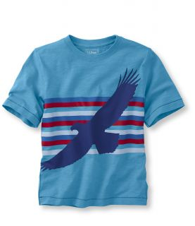 Boys Short Sleeve Graphic Tees, Eagle