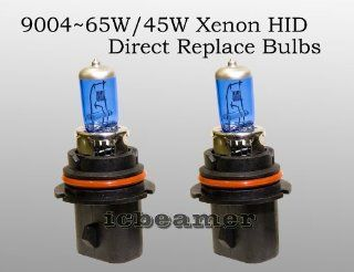 9004 HB1 65/45W Pair High/ Low Xenon HID Bright White headlight Bulbs Automotive